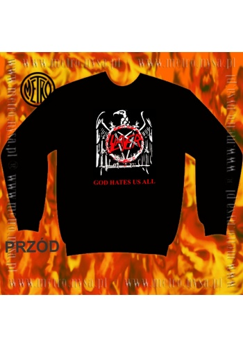 "Bluza SLAYER ""God Hates Us All"""